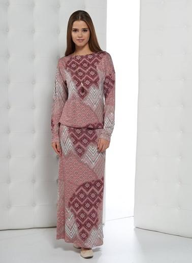 Kadın Uzun Elbise-Gizzey